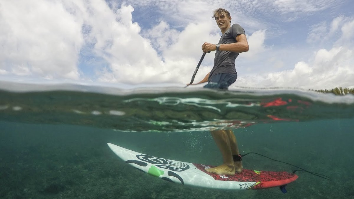 The Problem with SUP surfing…